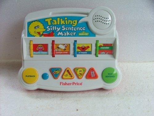Fisher Price Talking Silly Sentence Maker. Sentence Maker