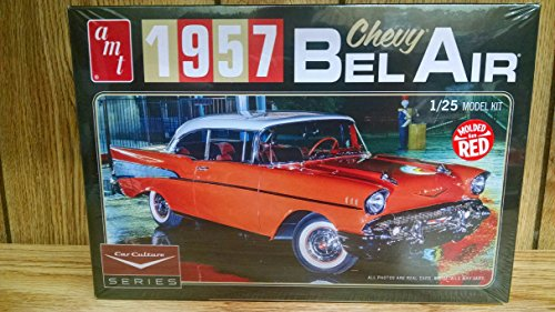 AMT 988/12 1/25 Cindy Lewis 1957 Chevy Bel Air w/Diorama Color (57 Chevy Model Kit)