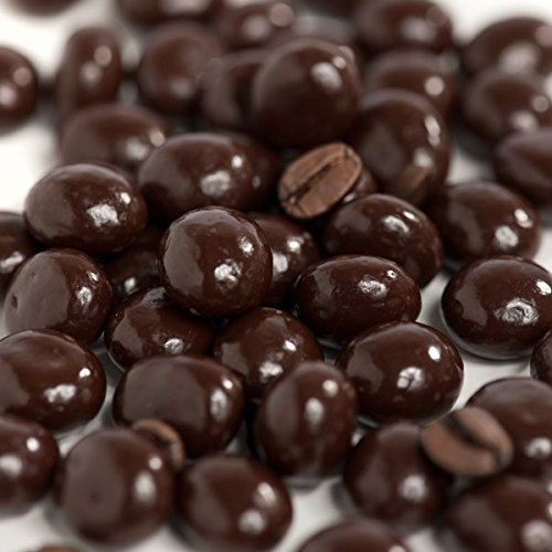 Dark Chocolate Covered Espresso Coffee Beans 2 Lb, 32 oz in Resealable Bag By FirstChoiceCandy by First Choice Candy