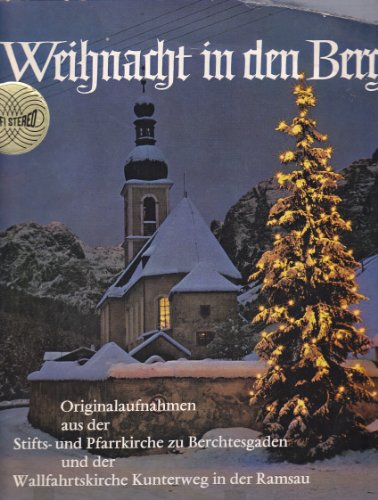 weihnachten in den bergen cd covers. Black Bedroom Furniture Sets. Home Design Ideas