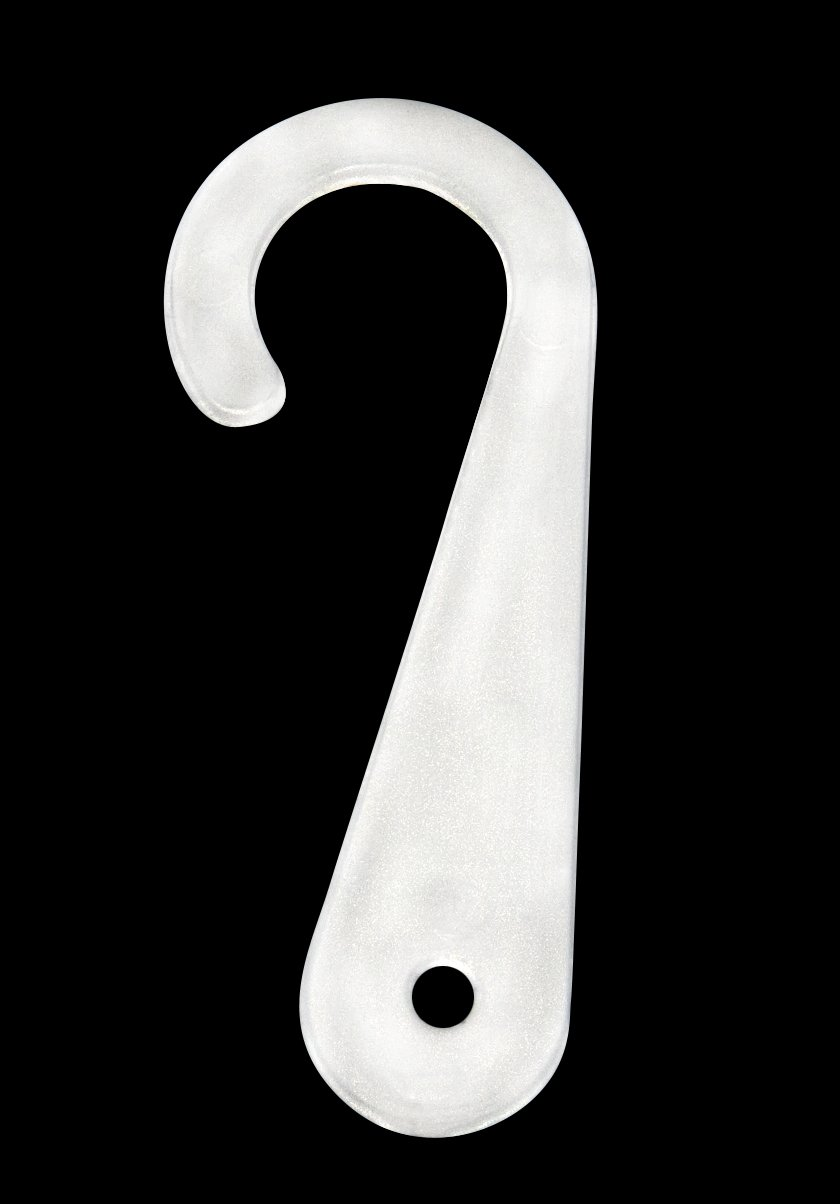 Amram Sock Display Hooks, 1 3/4 Inch, 2000 Pcs- White
