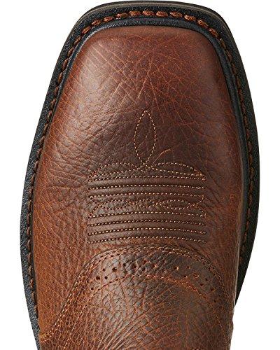 Ariat Arbete Mens Sierra Shadowstålhätta Arbete Boot, Mesa Brun, 8 D Oss brun
