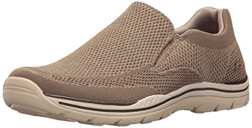 Skechers USA Men's Expected Gomel Slip-on Loafer,Taupe,12 M US (Best Social Service Websites)