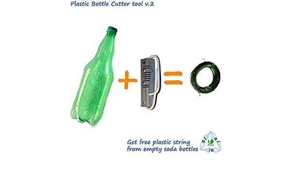 v.2 Botella de plástico reciclado (cortador), Get libre ...
