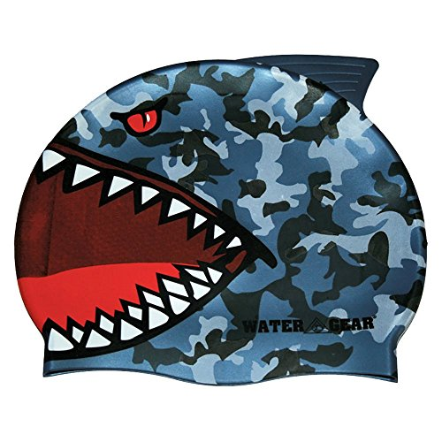 - Water Gear Critter Cap, Blue Shark