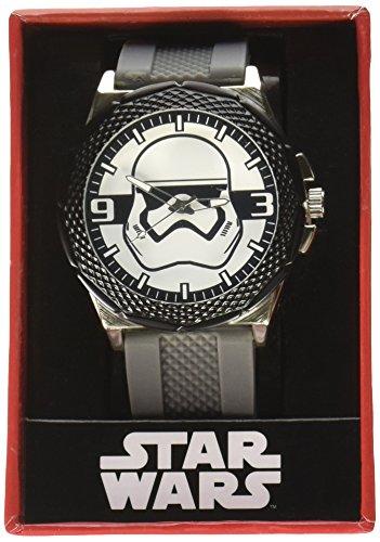 Star Wars Episode VII TFA Stormtrooper Grey Silicone Watch
