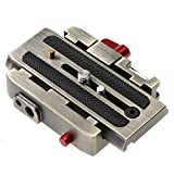 Chinatera Quick Release Plate P200Clamp Adapter for Manfrotto 577 501 500AH 701HDV 50