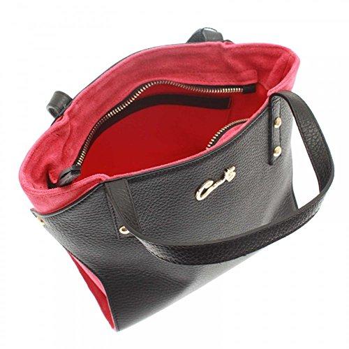Grab Bag Double Black Small Handle Multi Cats vI0zxt