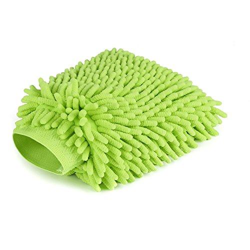 Car Wash Sponge, Chenille Microfiber Premium, Scratch-Free, Car Wash Mitt, Double - Car Letter