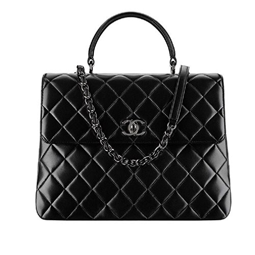 Chanel Purse Bag (Fashion Chanel Women's Black Diamond Lattice Handbag)