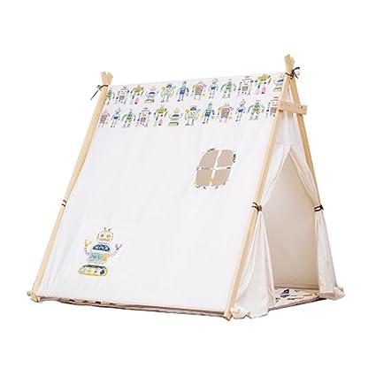 buy popular a30e9 0c5f2 Amazon.com: Children's Play Tent Robot Pattern Boy Girl 2-12 ...