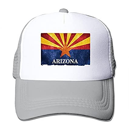 43c496cf ... best price whrooer arizona flag trucker hat black one szie with unisex  ee97d 738df