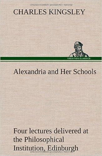 Recent Forum Posts on Alexandria and Her Schools