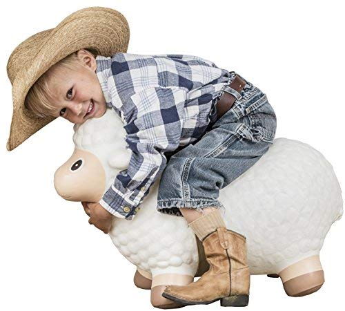 Sheep Bouncy Toy Kids Hopper Toy Big Country Toys Lil Bucker Mutton Buster Rodeo Toys