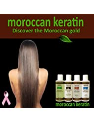 Moroccan Keratin Most Effective Brazilian Keratin Hair Treatment SET 120ML x4 Professional Salon Formula Shipping Available Worldwide