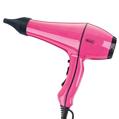 Secadores de pelo por Wahl Powerdry 2000 W, color rosa