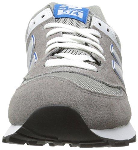 Basso Grigio Ml574 A D Grey blue sng Collo adulto New Sneaker Balance Unisex grau zaq4wf5YTx