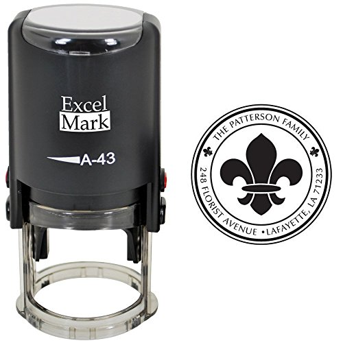 Custom Self Inking Address Stamp - Style 248