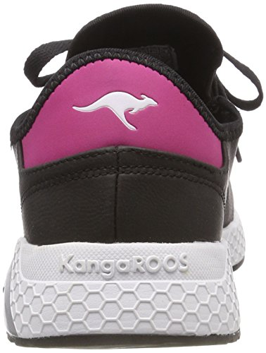 Race Kadee Daisy Adults' Trainers Unisex Black Black Kangaroos Pink 5025 Jet w1TqtAR