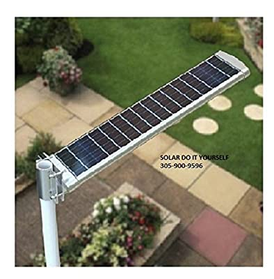 20 Watt Solar LED Pathway And Street Light - 6000K