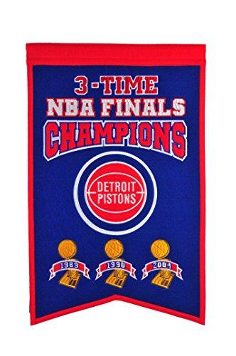 NBA Detroit Pistons Champions Banner