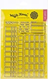 Waffle Flower Crafts 271190 Clear Stamp 5'X7'-Color Swatches