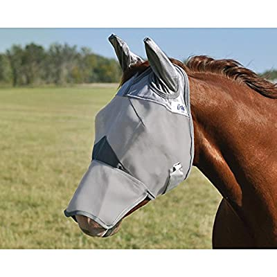 Cashel Crusader Long Nose Fly Mask with Ears by CASHEL COMPANY