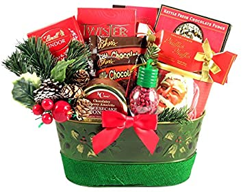 Amazon Com Gift Basket Village A Holiday Surprise Christmas