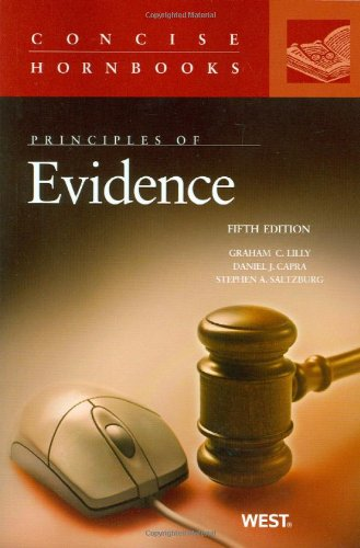 Principles of Evidence, 5th Edition (Concise Hornbooks)