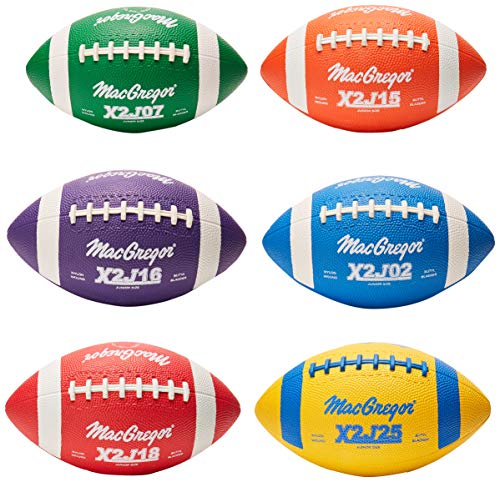 Junior Size Footballs Mulitcolor - Set of 6]()