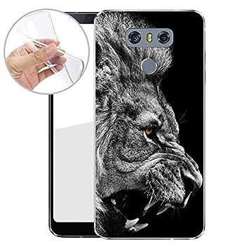 FINOO TPU Teléfono Móvil para tu LG G6 Fabricado en Alemania con ...