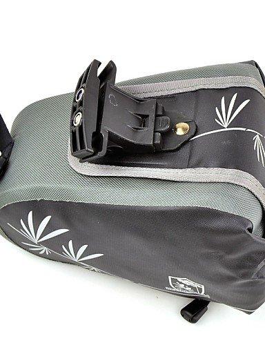 ZXC/ Fahrrad Kofferraum Tasche/Fahrradtasche(Grau,Nylon)Staubdicht / tragbar / Multifunktions Radsport