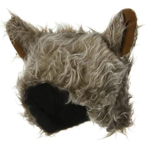 Wolf Hat - Grey Brown OSFM -