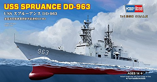 Hobby Boss USS Spruance DD-963 Boat Model Building Kit
