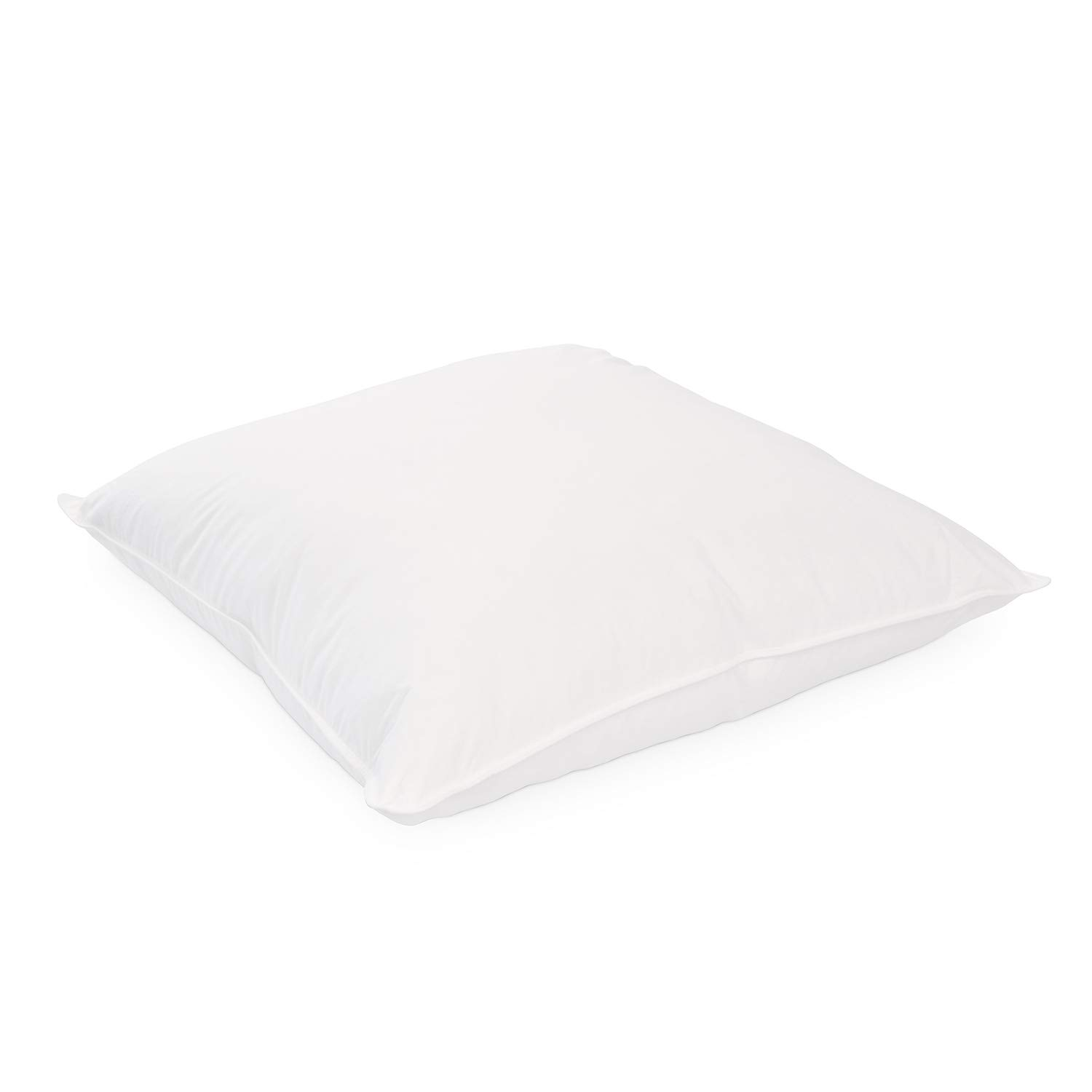 DOWNLITE Clearance Sale - Luxury Feather and Down Euro Pillow - Hypoallergenic Throw Pillow Insert - 26 Inch Euro Pillow - Assembled in The USA