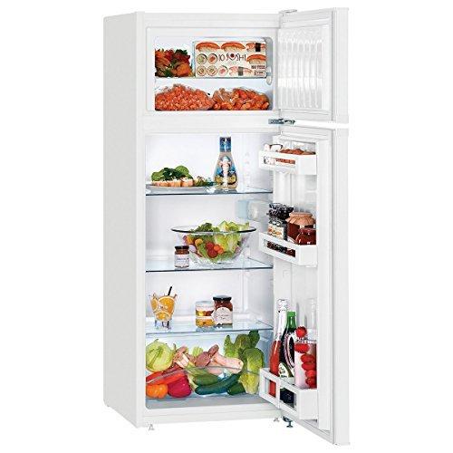 Liebherr CTP 2521 Comfort Frigo-congelatore con Congelatore Sopra e  SmartFrost, 231 L, SN-T, 39dB, 4 kg/24h, A++, Bianco