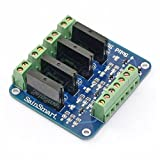 SainSmart 5V 4-Channel Solid State Relay Board for Arduino Uno Duemilanove MEGA2560 MEGA1280 ARM DSP PIC
