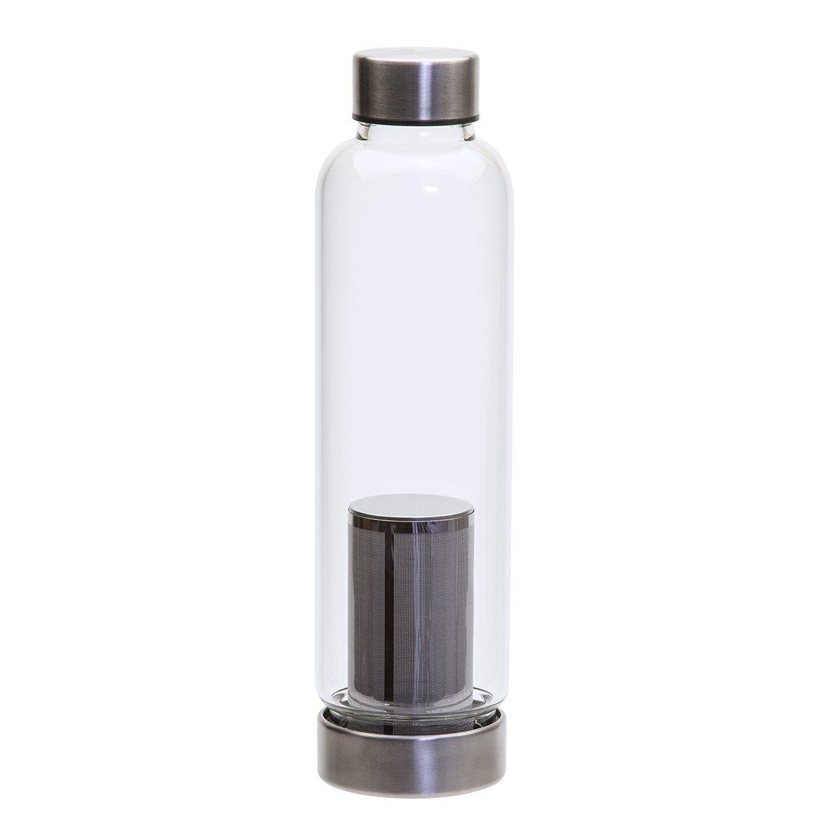 Primula Cold Brew 19 oz Travel Bottle w/Insulating Sleeve, Black