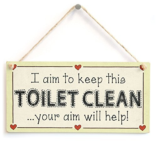 weewen I Aim to Keep This WC Clean Your Aim Will Help ...