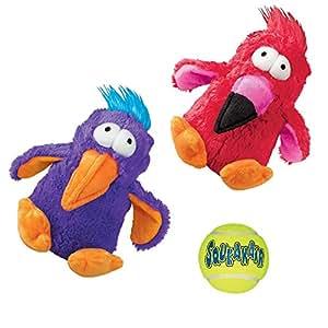 Amazon.com : Kong Squeak Dog Toys Variety Pack: (2) Kong