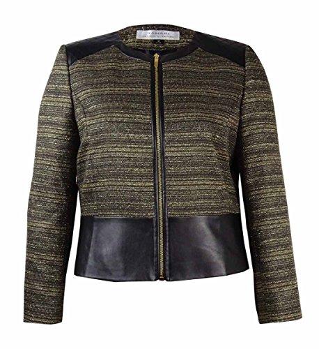 Leather Trim Tweed - 6