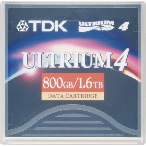 TDK LTO-4 D2407-LTO4 Ultrium-4 Data Tape Cartridge (800GB/1.6TB) TDK ELECTRONICS CORPORATION D-2407-LTO4