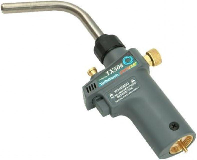 Self Lighting USED MAP-Pro//Propane TurboTorch 0386-1293 TX-504 Torch Swirl