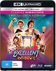 Classics Remastered - Bill & Ted's Excellent Adventure (4K Ultra HD + Blu-ray)