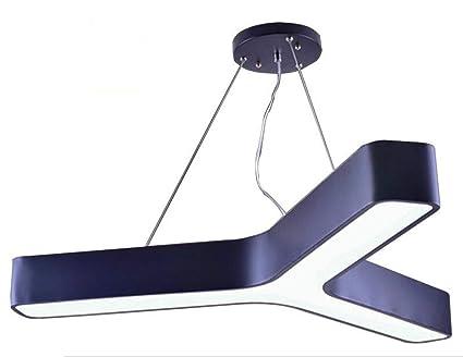 OOFAY LIGHT araña de lámpara de Techo de LED, Pantalla ...