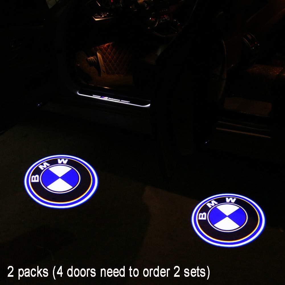 HW/_Mann 2st LED SMD Einstiegsbeleuchtung Projektor licht leuchten einfache installation Door Shadow Licht Laser Projektor Logo