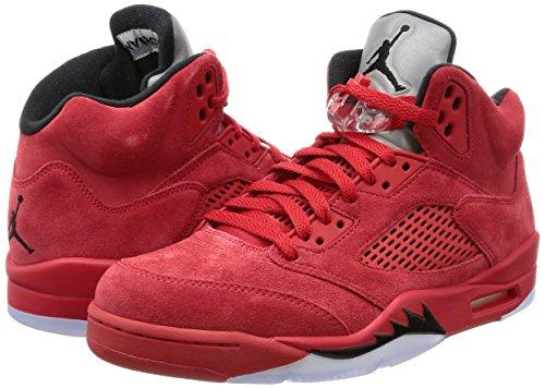Nike Leg Baseball Skull Tee Yth - Camiseta para niño university red, black