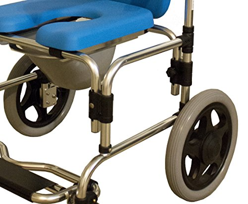 Baltic Professional Transport Shower/Commode Chair-PADDED by Platinum Health (Image #2)