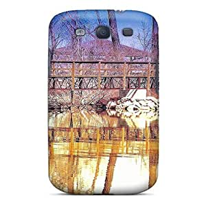 Awesome Barr Lake State Park Flip Case With Fashion Design For Galaxy S3