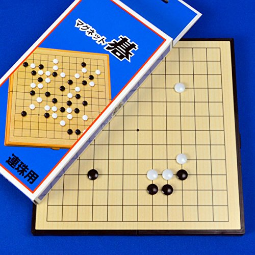マグネット囲碁セット  MG16(連珠・詰碁用※13路盤)(五目並べ用)